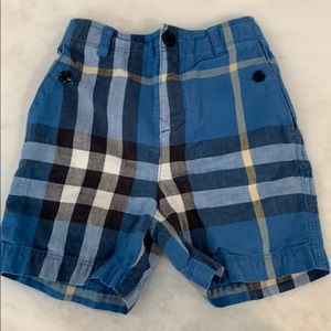 Boys Burberry shorts